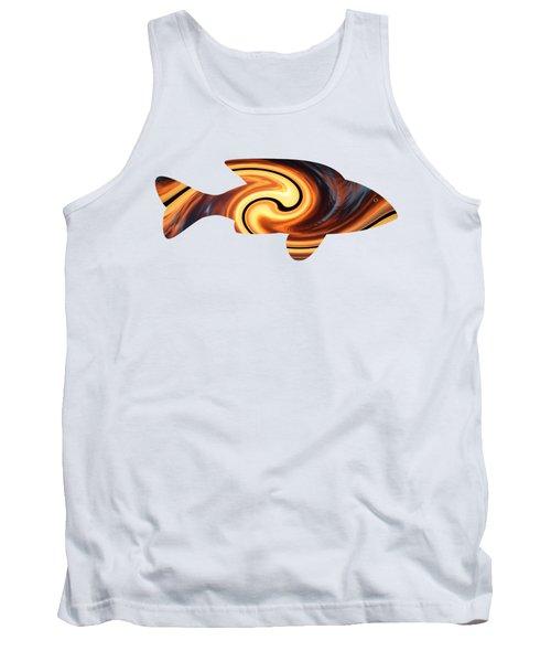 Sunset Fish Tank Top