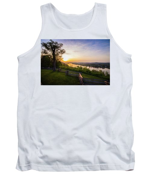 Sunset From Boreman Park Tank Top by Jonny D
