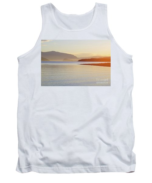 Sunset In The Mist Tank Top by Victor K
