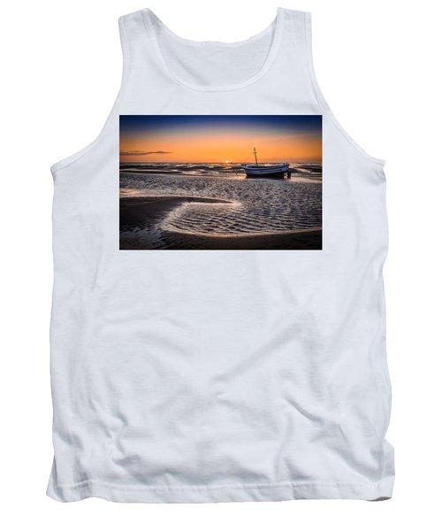Sunset, Meols Beach Tank Top