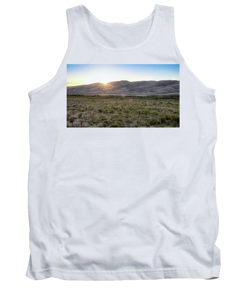 Sunset On The Dunes Tank Top by Monte Stevens