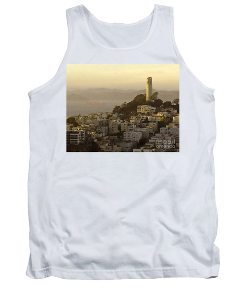 Sunset Over The Water Tank Top