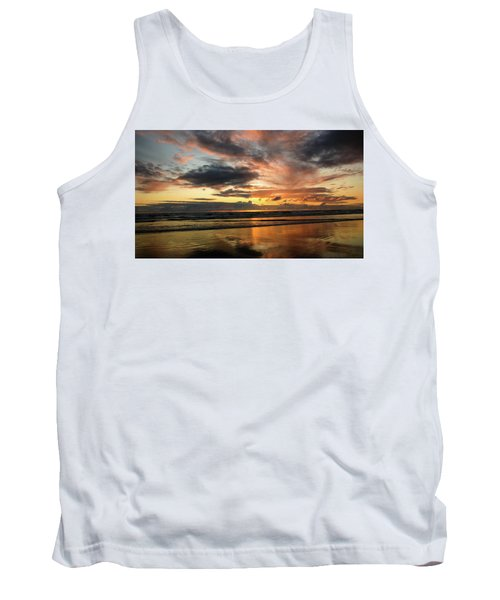 Sunset Split Tank Top