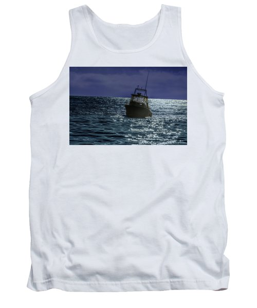 Sunsetting On Fisher Betting Tank Top