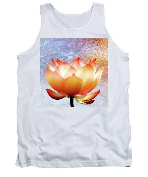 Sunshine Lotus Tank Top