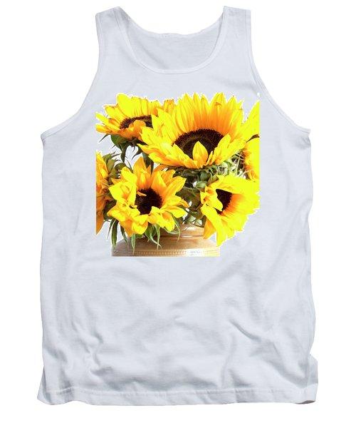 Sunshine Sunflowers Tank Top