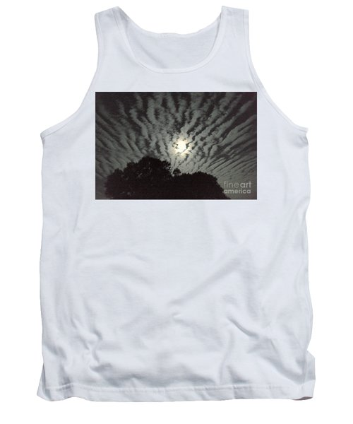 Tank Top featuring the photograph Super Moon by Irma BACKELANT GALLERIES