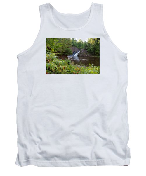 Tank Top featuring the photograph Superior Falls by Sandra Updyke