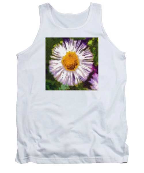 Tank Top featuring the photograph Supernove Daisy by Spyder Webb