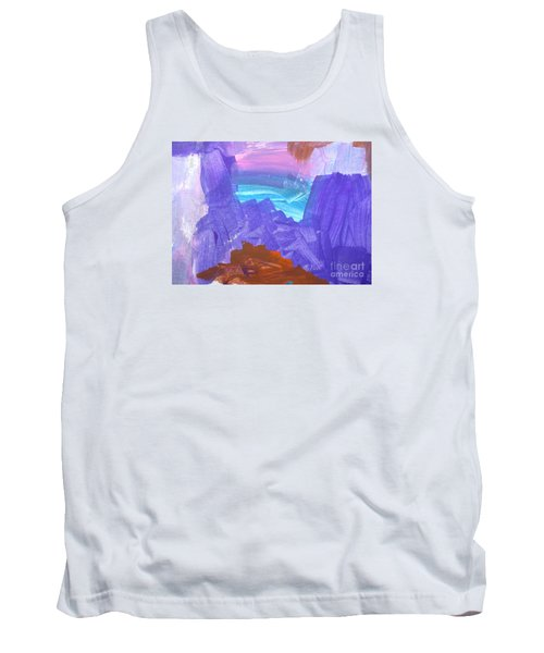 Tank Top featuring the photograph Surf By Hannah by Fred Wilson