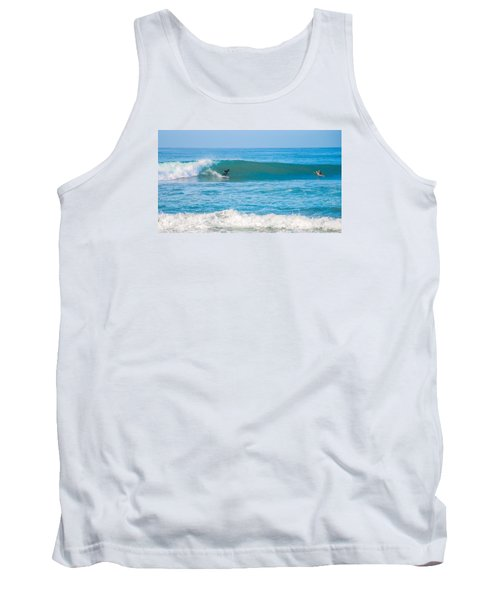Surfing Tank Top by Dorothy Cunningham