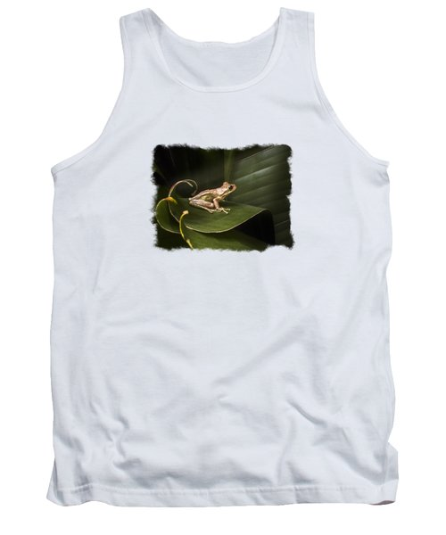 Surfing The Wave Bordered Tank Top