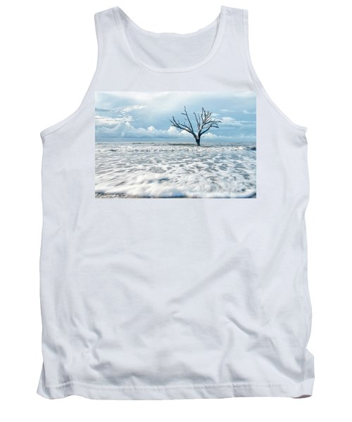 Tank Top featuring the photograph Surfside Tree by Phyllis Peterson