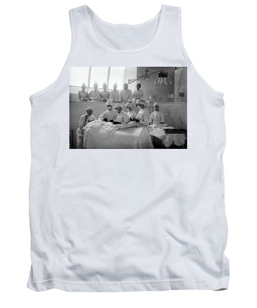 Tank Top featuring the photograph Surgery Theater C. 1917 by Daniel Hagerman