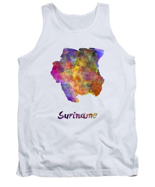 Suriname In Watercolor Tank Top