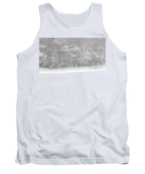 Surreal Snowdrops Tank Top
