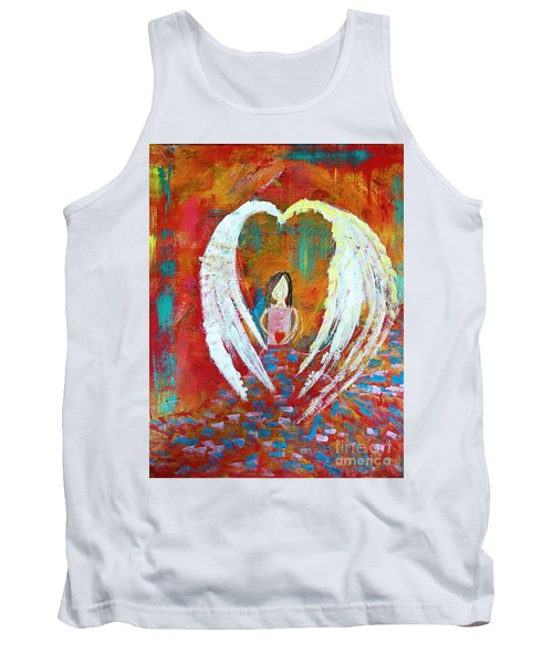 Surrounded By Love Tank Top