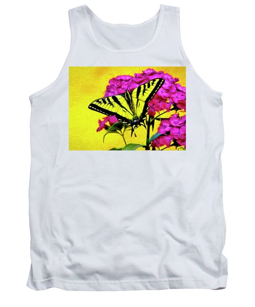 Swallow Tail Feeding Tank Top by James Steele