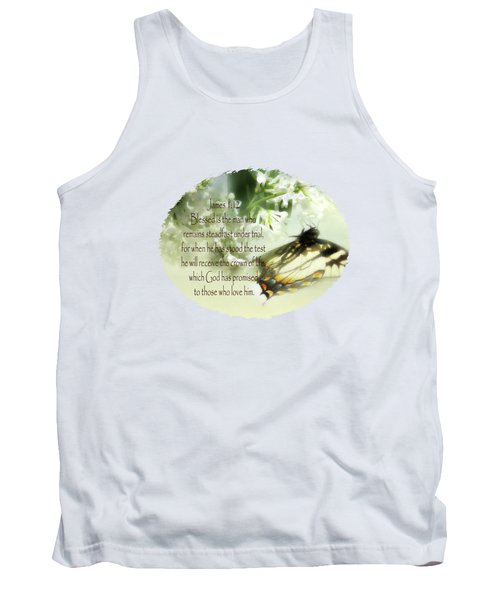 Swallowtail And Lilac Tank Top