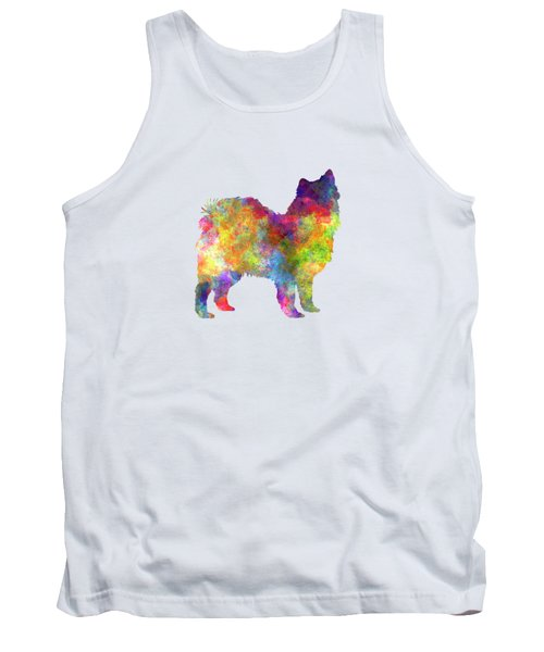 Swedish Lapphund In Watercolor Tank Top