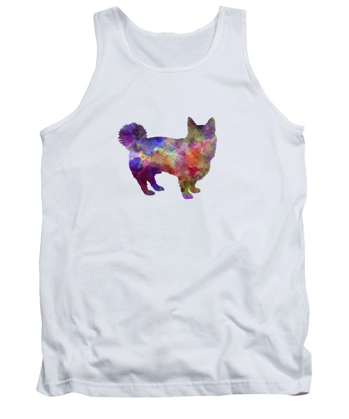 Swedish Vallhund In Watercolor Tank Top