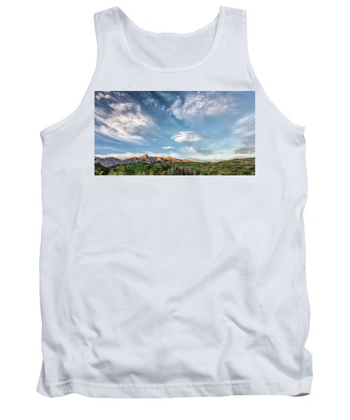 Sweeping Clouds Tank Top