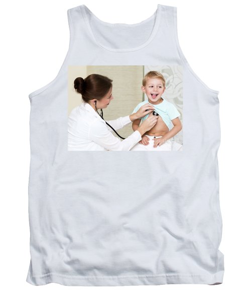 Sweet Child Visiting Doctor Tank Top