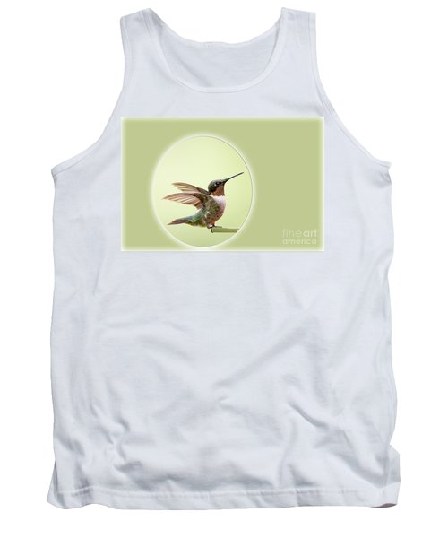 Tank Top featuring the photograph Sweet Little Hummingbird by Bonnie Barry