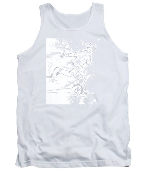 Swegway Hoverboard Fun Cartoon Tank Top