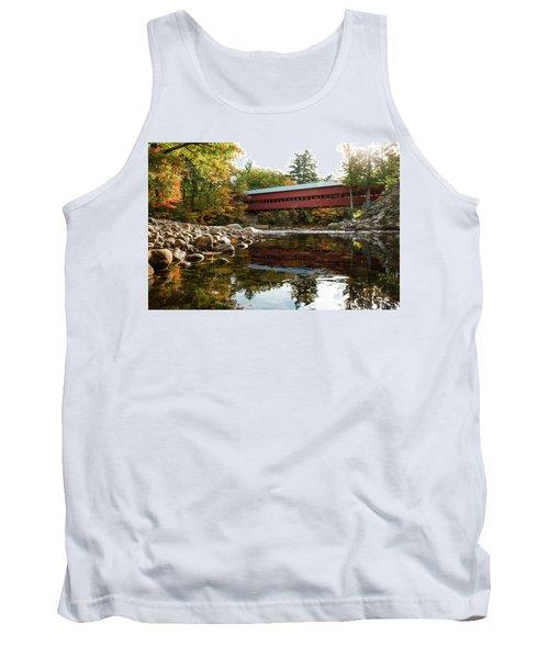 Swift River Covered Bridge Tank Top
