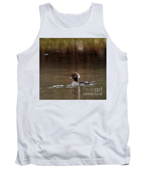 Swimming Alone Tank Top by Tamera James