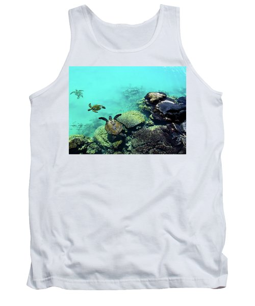 Swimming Honu Tank Top