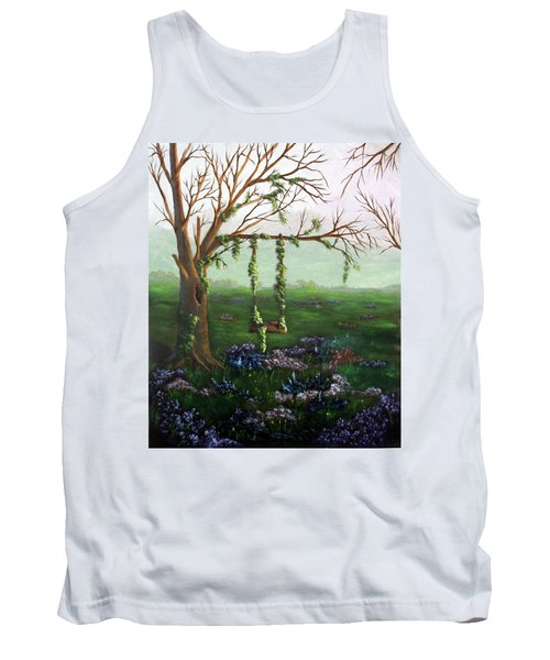 Swingin' With The Flowers Tank Top