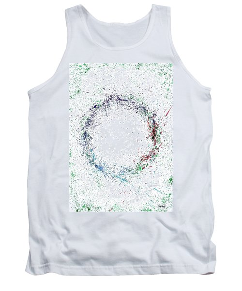 Swirling Of Life Tank Top