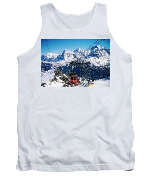 Switzerland Alps Schilthorn Bahn Cable Car  Tank Top