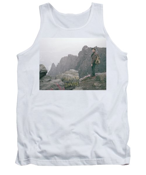 T-04701 Fred Beckey On Mt. Si 1958  Tank Top