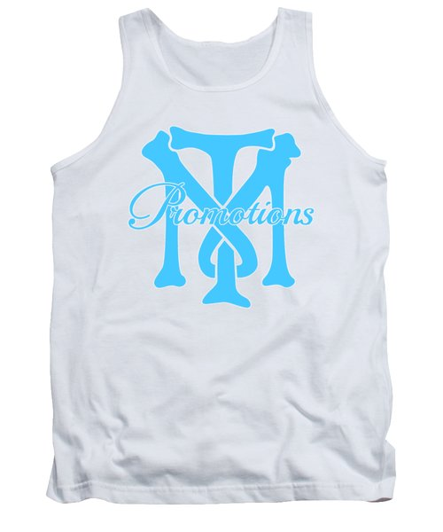 Tank Top featuring the drawing T And M Promotions Logo by Nicholas Grunas
