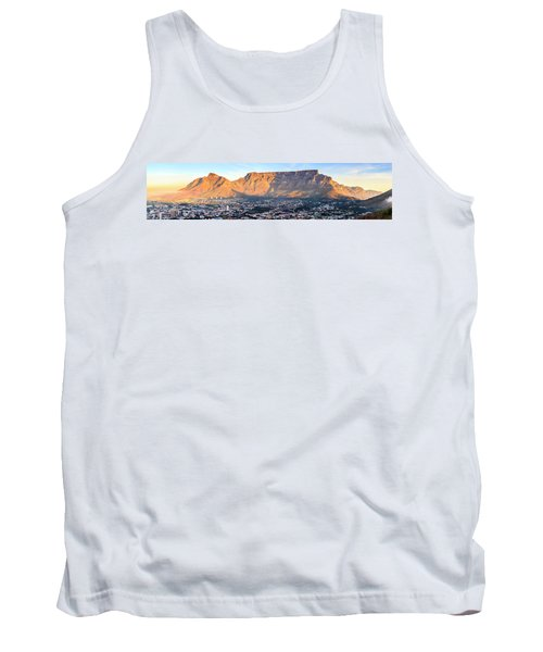 Tank Top featuring the photograph Table Mountain by Alexey Stiop