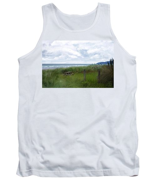 Tables By The Ocean Tank Top