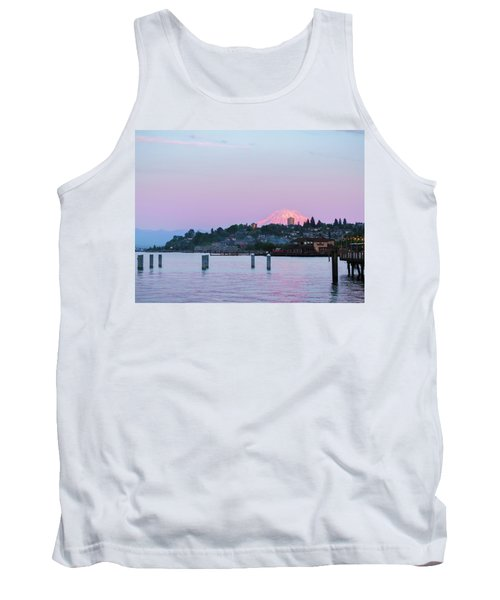 Tacoma Sunset Tank Top