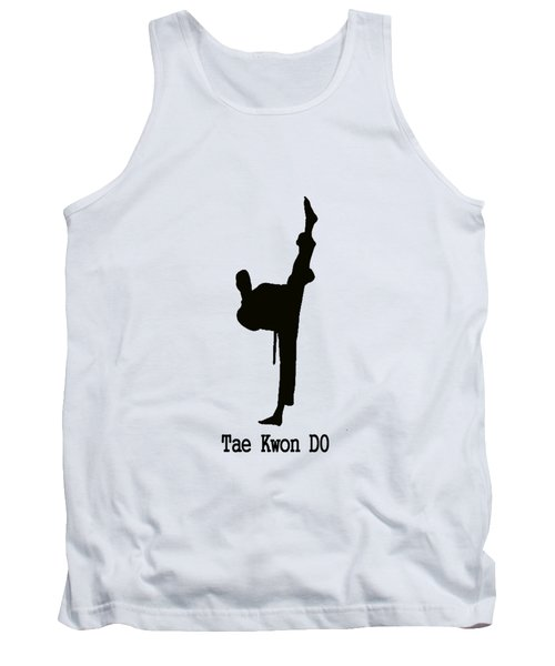 Tae Kwon Do T-shirt Tank Top by Pat Cook