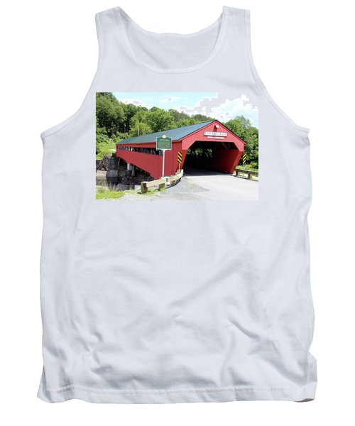 Taftsville Covered Bridge Tank Top