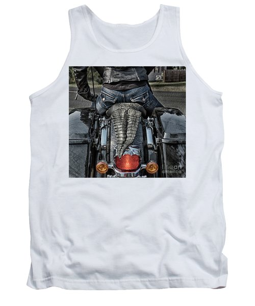 Tail Of The Dragon  Human Interest Art By Kaylyn Franks.  Tank Top