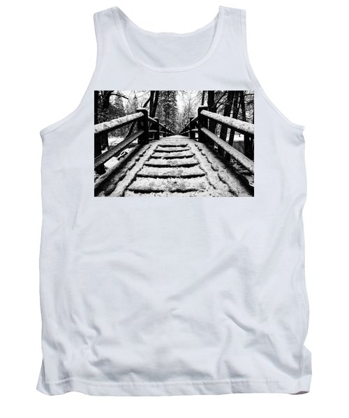 Tank Top featuring the photograph Take A Walk With Me by Lora Lee Chapman