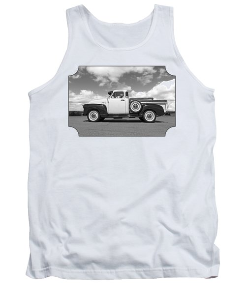 Take Me With You - Black And White Tank Top