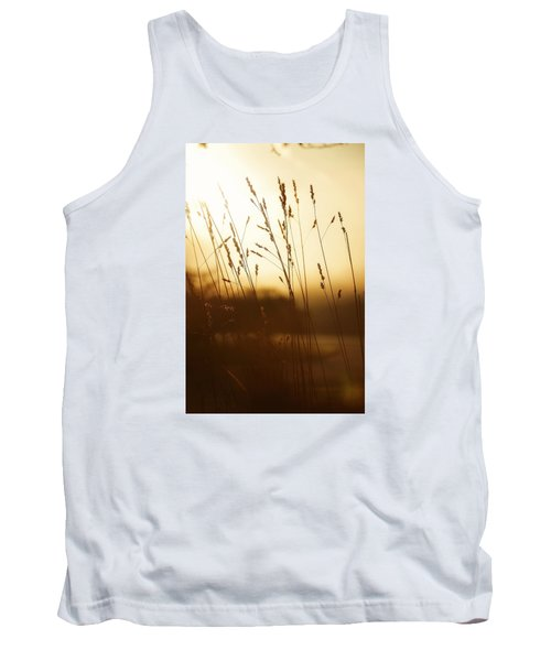 Tall Grass In The Morning Tank Top by Nikki McInnes