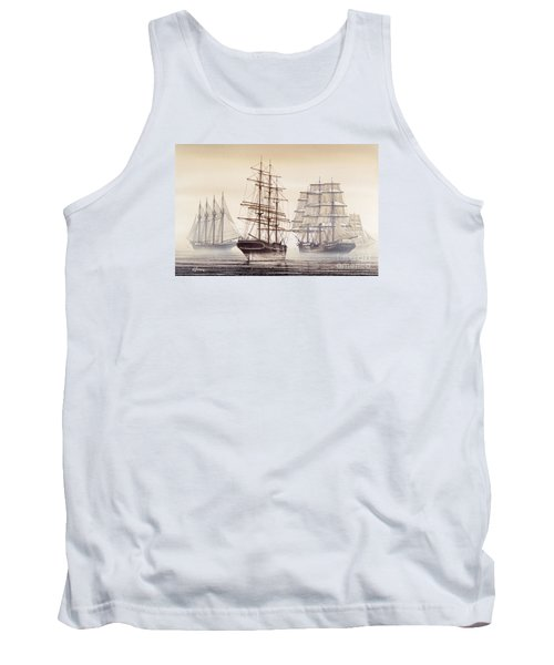 Tall Ships Tank Top by James Williamson