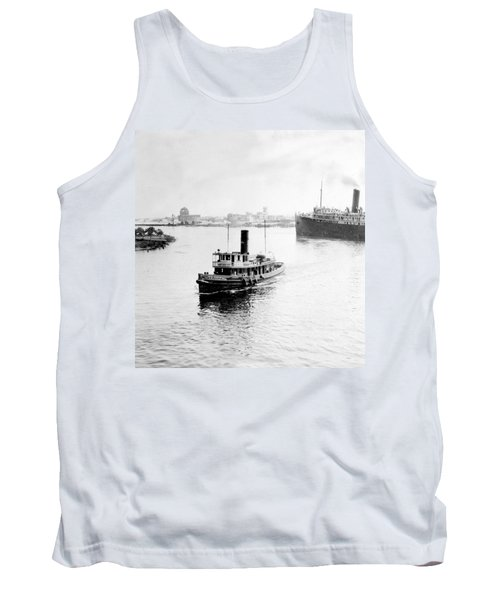 Tampa Florida - Harbor - C 1926 Tank Top by International  Images