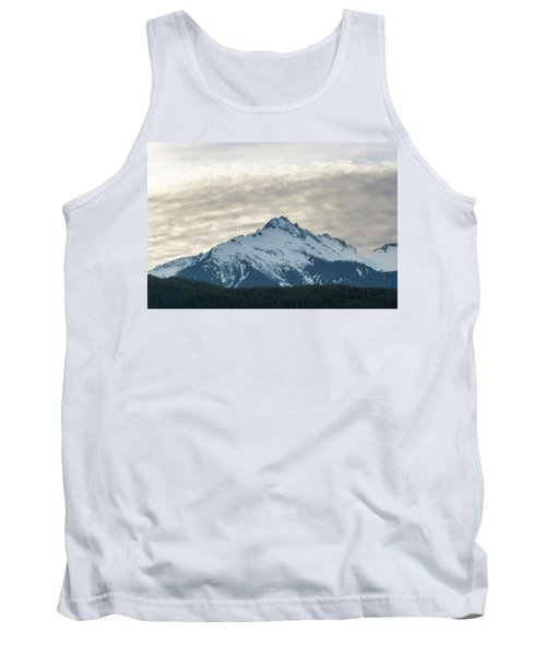 Tantalus Mountain Range Closeup Tank Top