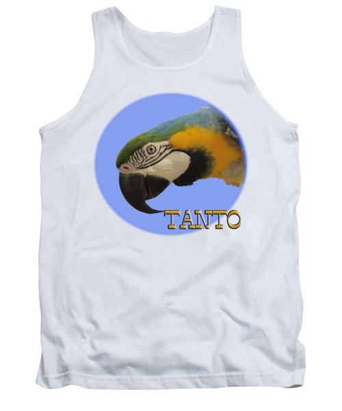 Tanto Tank Top by Zazu's House Parrot Sanctuary